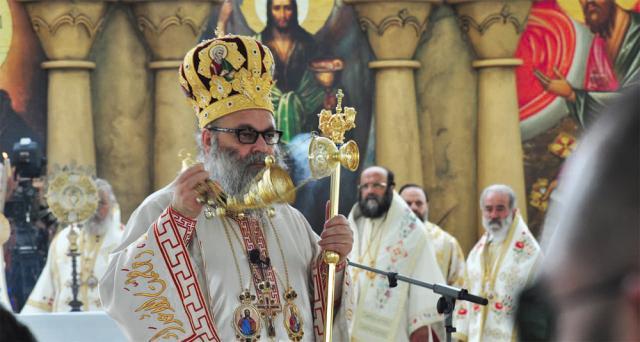 Patriarch John X at Unity Conference Liturgy