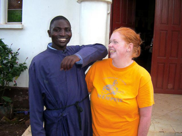 Katy Wilcoxson in Tanzania