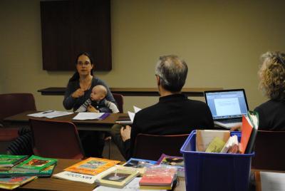 Khouria Elizabeth Bushelli teaching Homeschooling 101