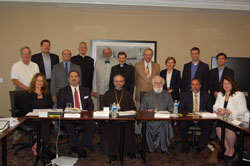 Assembly of Bishops' Legal Affairs Committee meeting, July 2012
