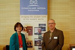 Tonya and John Maddex of Ancient Faith Radio
