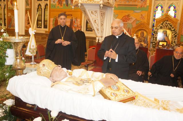 March 26 Memorial Services for Metropolitan Philip 1