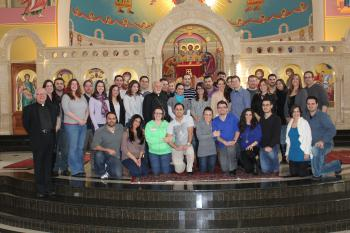 Marriage retreat participants