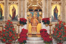 Met. Philip presiding at Nativity Liturgy, 2012