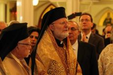 Metropolitan Joseph, Liturgy with Patriarch John, Enthronement weekend
