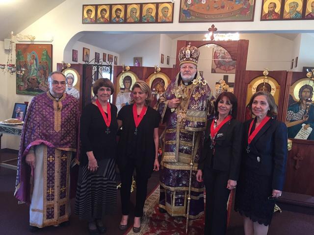Metropolitan Joseph Visits St. Stephen the Protomartyr Church + South Plainfield, NJ