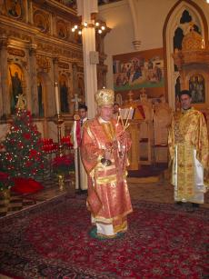 Metropolitan Philip Celebrates 2010 Nativity Liturgy