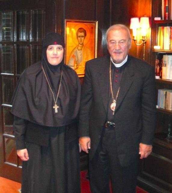 Metropolitan Philip and Mother Alexandra