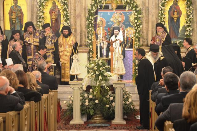Metropolitan Philip Funeral, March, 2014