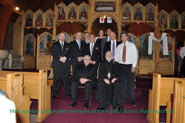 Metropolitan Joseph Visits St. George Church + Washington, D.C.