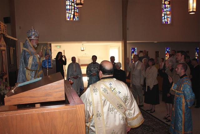 Order Inductions at St. James Church + Modesto, CA