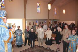 Order Inductions at St. James Church + Modesto, CA