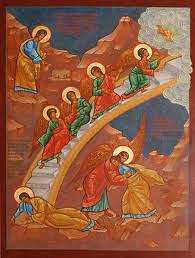 Icon of the Ladder in Jacob's Dream