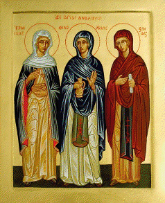 Ss. Hermione, Philonella and Zenaida, the Mothers of Modern Medicine