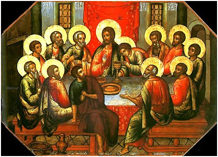 The Mystical Supper: Institution of the Light of the Eucharist