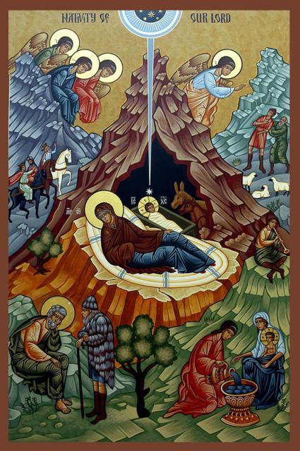 The Nativity icon