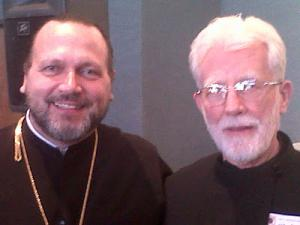 Fr. Joseph Huneycutt and Dn. Gregory Norris at conference