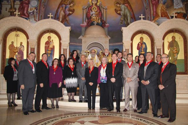 Order Inductions at Ss. Peter and Paul Church in Potomac, MD + Dec. 2014