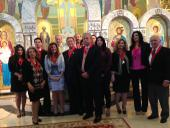 October 2013 Order Inductions at St. George Church + Troy, MI