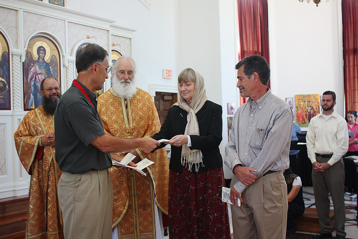 A Check for St. John of Kronstadt Orthodox Christian School