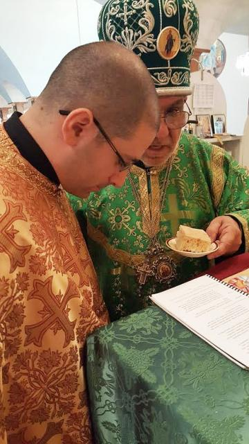 Bishop Thomas Ordains Dn. David Jacobs to Holy Priesthood