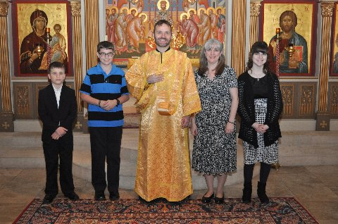 Deacon Juvenaly, Shamassy Debbie and their children