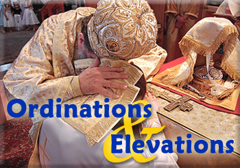 Ordinations Banner
