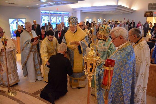Metropolitan Joseph at St. Paul Antiochian Orthodox Church, Naples, FL