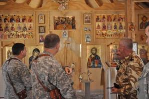 Orthodox Chapel at Kandahar Air Field
