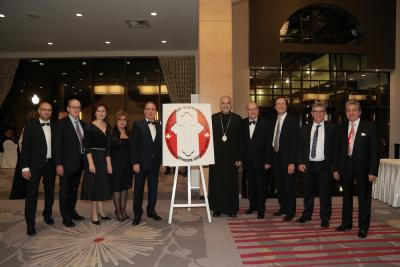 Bishop Alexander with Antiochian Orthodox Union of Canada members