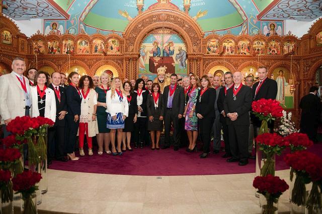 Metropolitan Joseph Inducts New Order Members in Ottawa + September 2015
