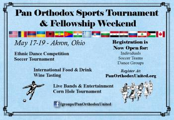 Pan Orthodox Sports Tournament + Akron, OH
