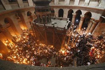 Pascha at the Holy Sepulchre