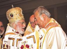 His Beatitude Patriarch Ignatius IV and Metropolitan Philip