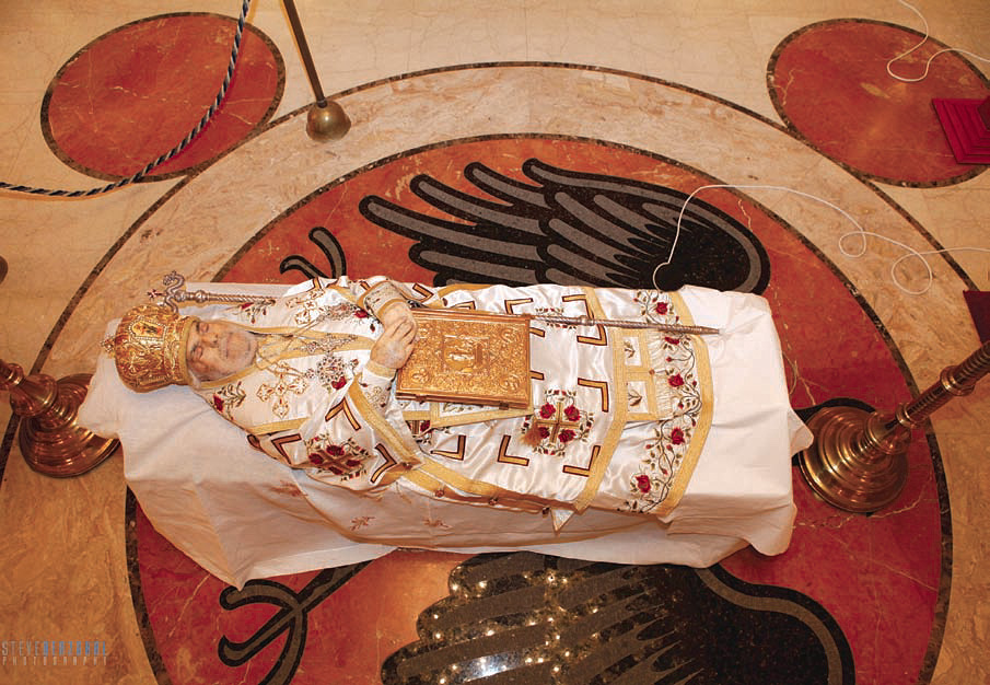 Funeral Service for His Beatitude Patriarch Ignatius IV