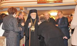Patriarch Ignatius IV Greets His Faithful Flock