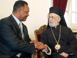 Patriarch Ignatius IV and Jesse Jackson