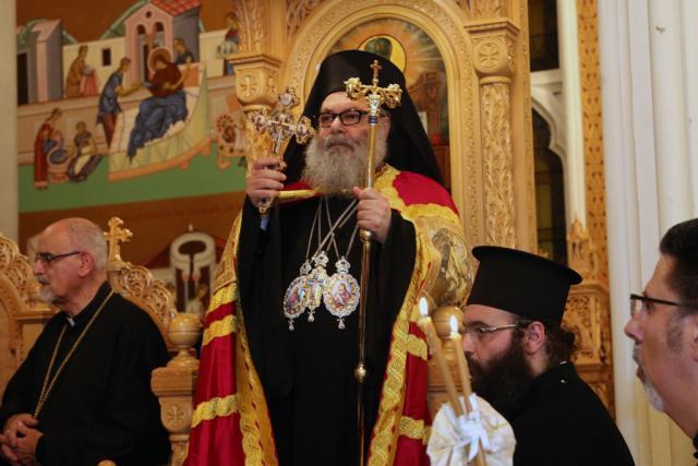 Patriarch John X at Enthronement