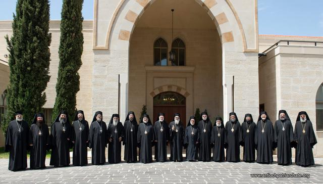 June 2017: The Holy Synod, Greek Orthodox Patriarchate of Antioch and All the East