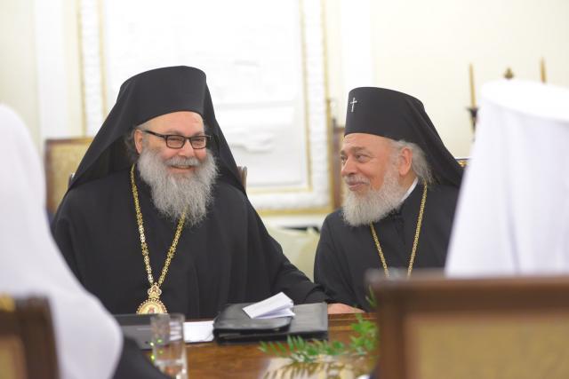 Patriarch John X in Russia