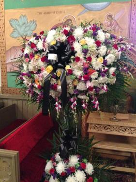 Flowers from Deputy Prime Minister Wallid Al-Moallem