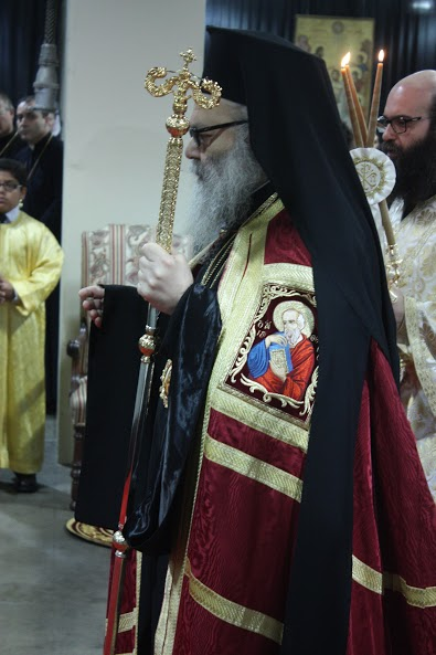 Patriarch John X in Boston, MA, July 26, 2015