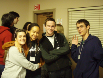 College students at 2011 OCF conference, California