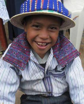 Guatamalan Mayan Orthodox boy
