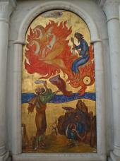 Prophet Elijah Icon at the Patriarchate