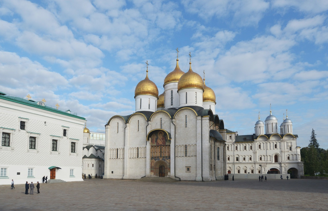 The Dormition Cathedral in the Kremlin