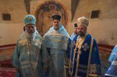 Archbishop Niphon, Fr. Thomas and Bishop Nicholas