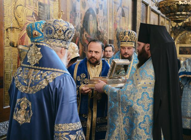 The Presentation of the Relics of St. Tikhon of Moscow