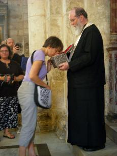 Venerating the Relics of St. George