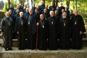 Charleston clergy at retreat, 2013